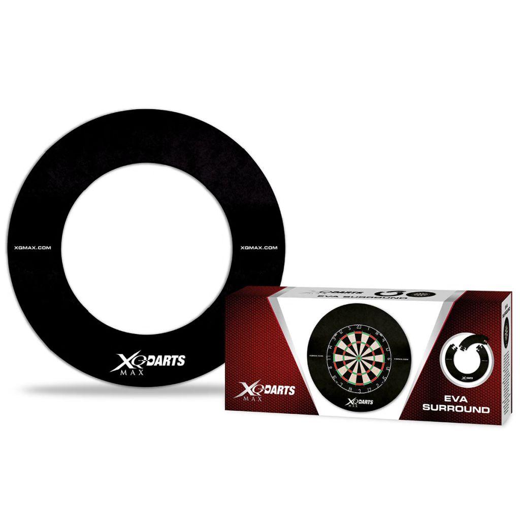 XQmax Darts Ochranný kruh na šípkový terč, materiál EVA, čierny, QD7300410