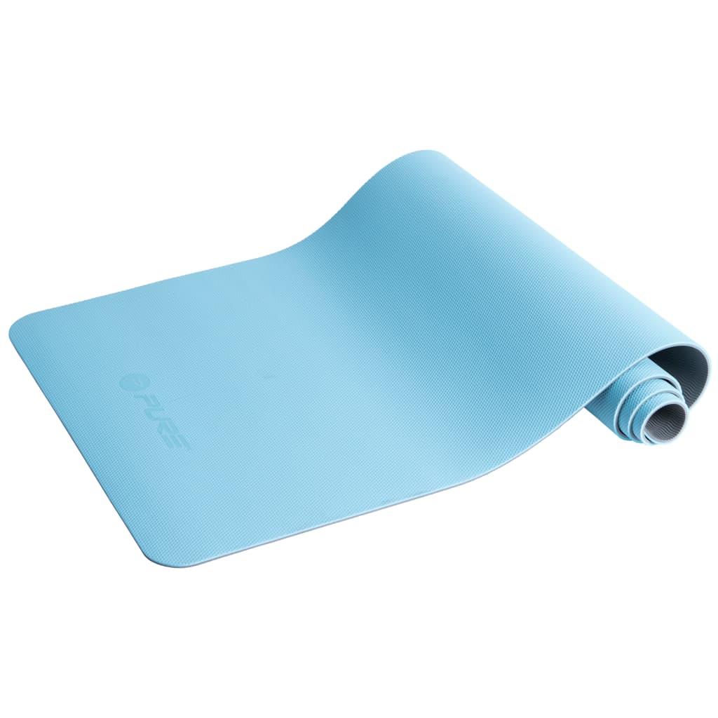 Pure2Improve Podložka na jogu 173x58x0,6 cm modrá a šedá