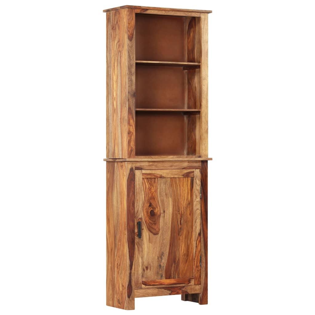 vidaXL Vysoká skrinka 60x30x180 cm masívne sheeshamové drevo