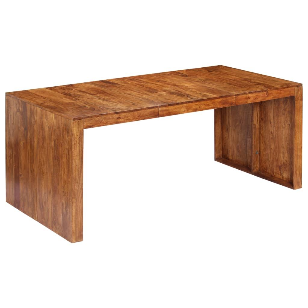 vidaXL Jedálenský stôl 180x90x75 cm masívne akáciové drevo