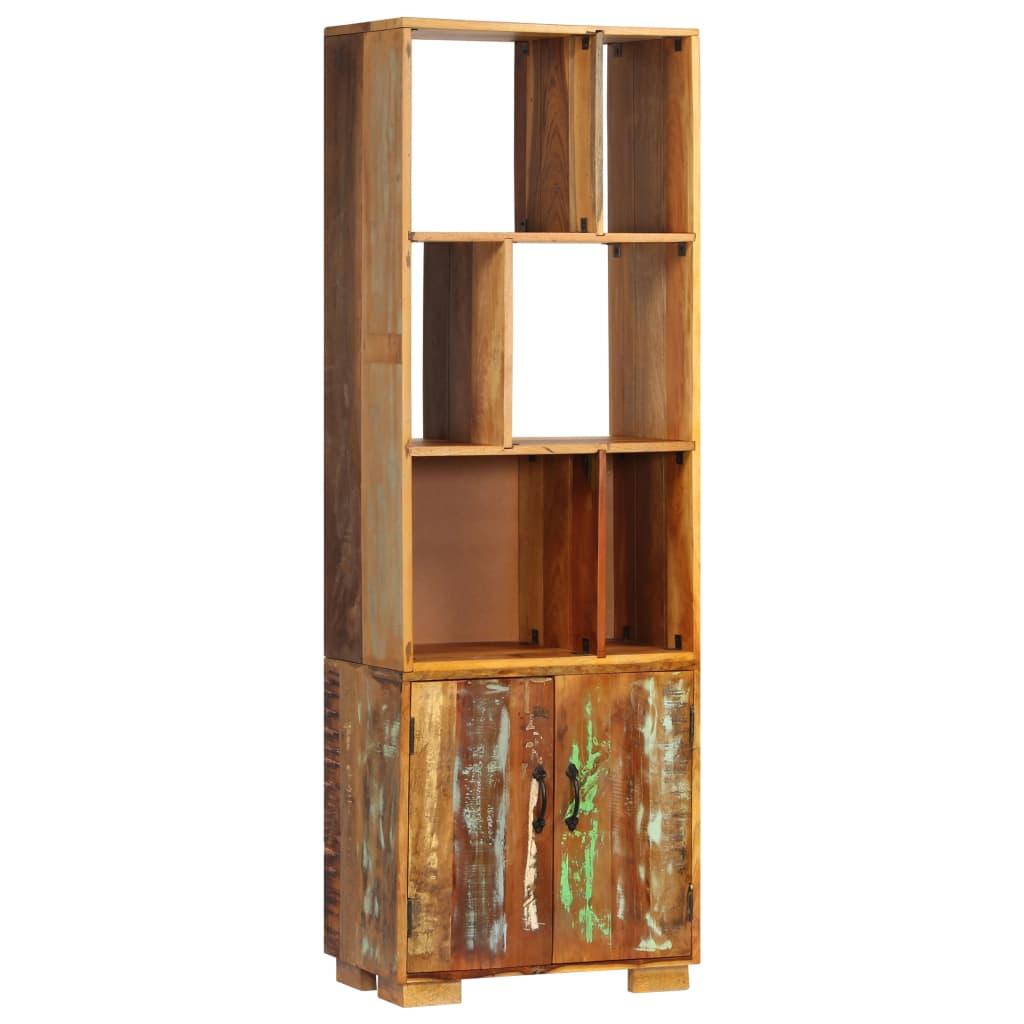 vidaXL Knižnica z recyklovaného dreva 60x35x180 cm