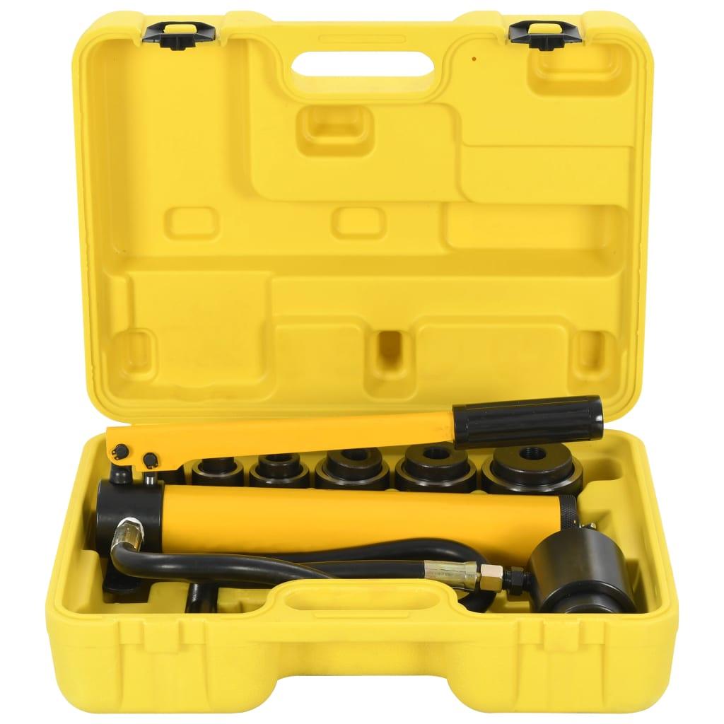 vidaXL Sada hydraulických krimpovacích nástrojov 22-60 mm