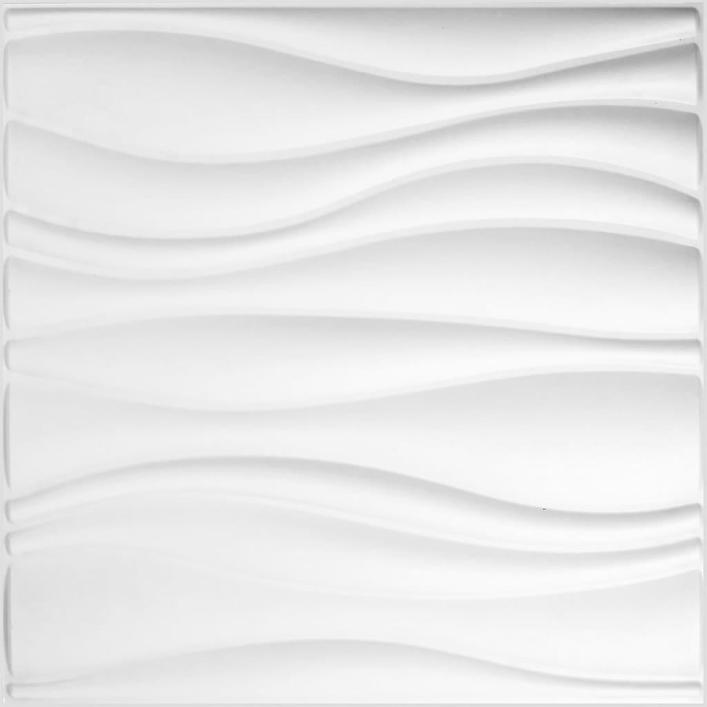 WallArt Nástenné 3D panely GA-WA04 24 ks vlny