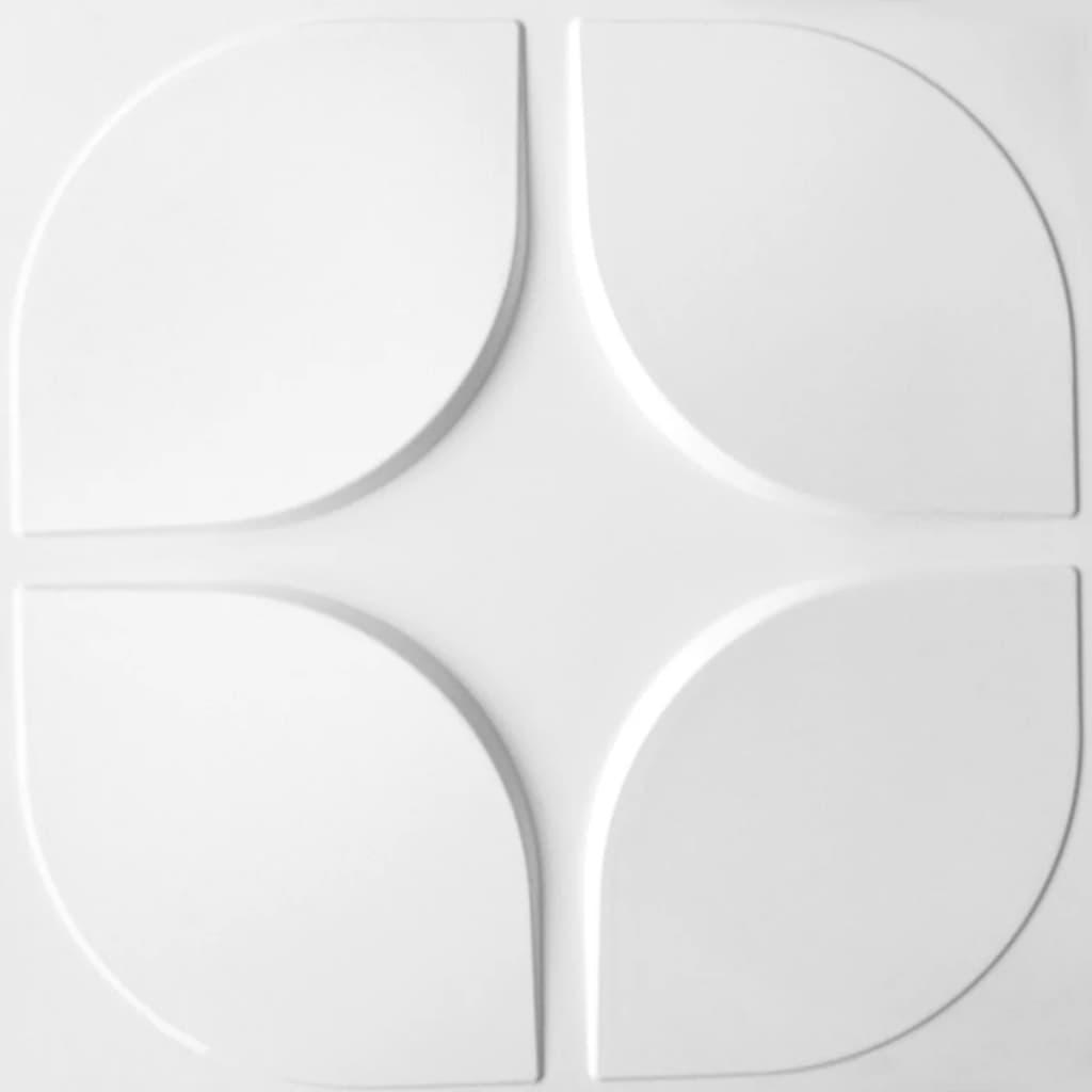 WallArt 24 ks 3D nástenné panely GA-WA06 oblúky