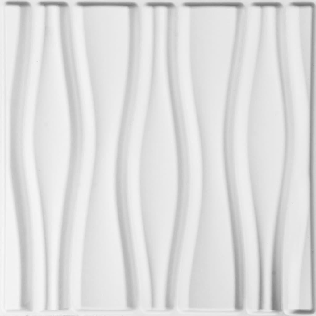 WallArt 24 ks 3D nástenné panely GA-WA14 prúdy