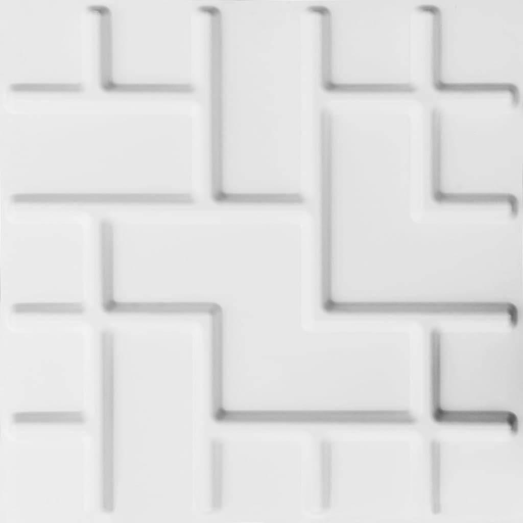 WallArt 24 ks 3D nástenné panely GA-WA16 Tetris