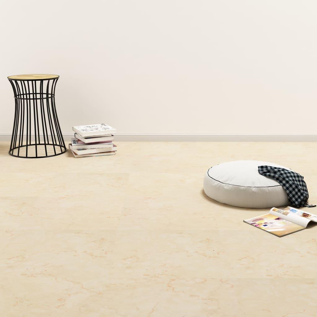 vidaXL Samolepiace podlahové dosky z PVC 5,11 m², béžové