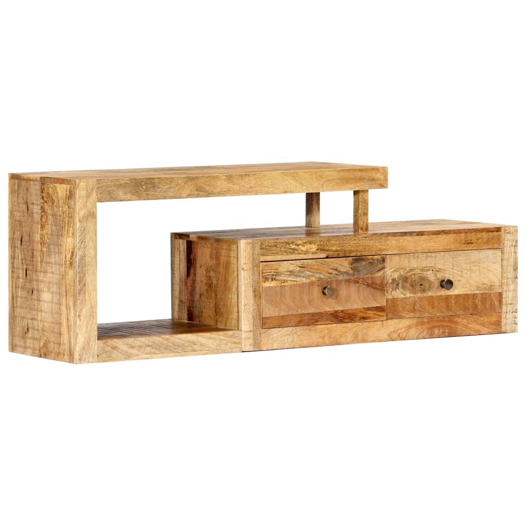 vidaXL TV skrinka 120x30x40 cm masívne mangovníkové drevo