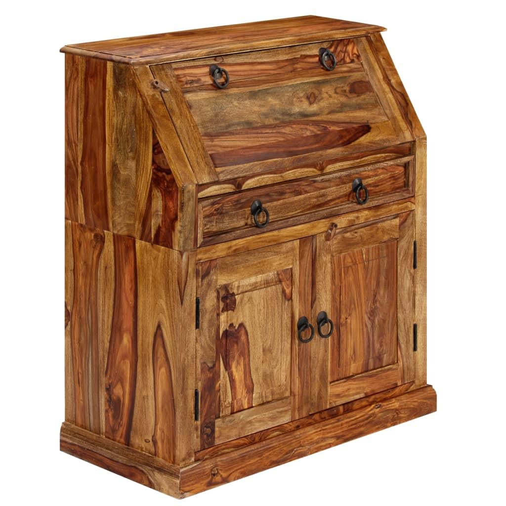 vidaXL Pracovná skrinka 80x40x100 cm masívne sheeshamové drevo