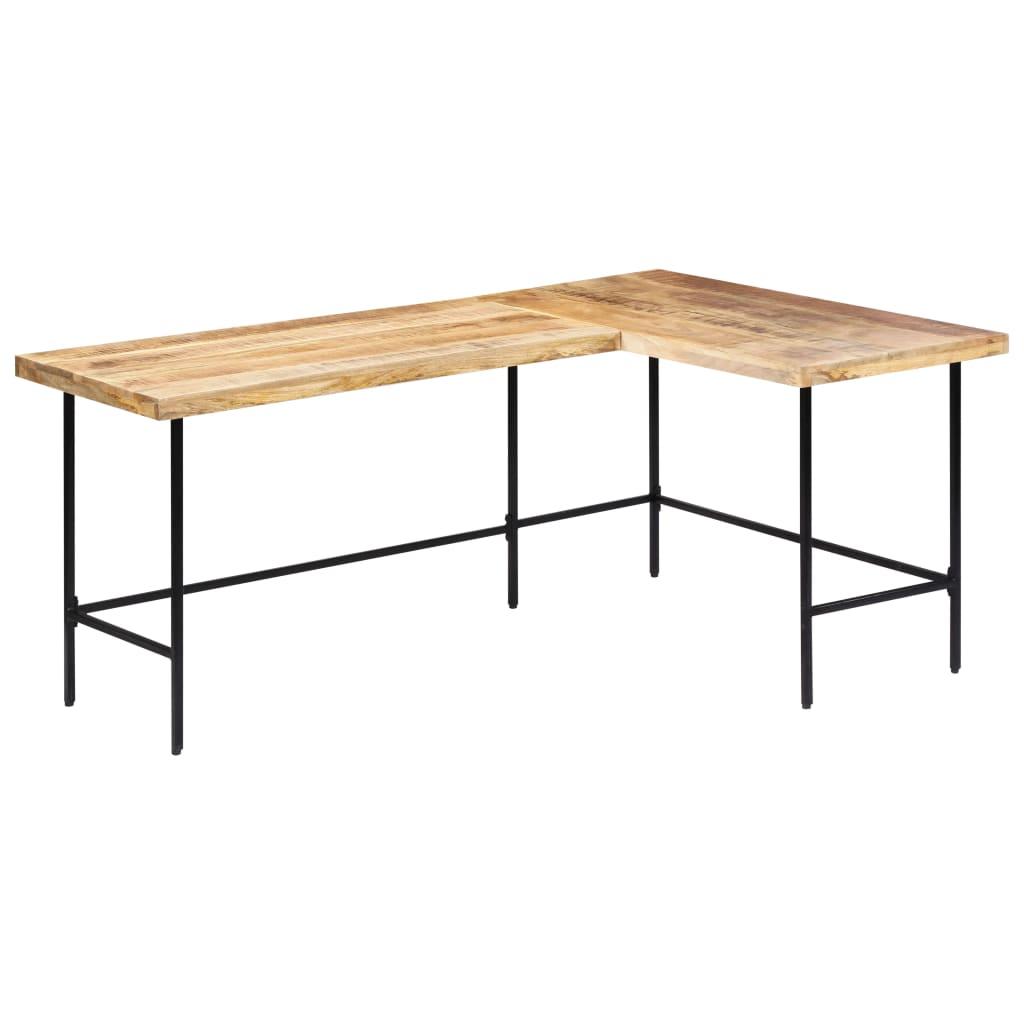 vidaXL Stôl z mangovníkového dreva 120x60x76 cm