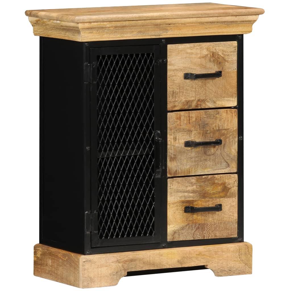 vidaXL Komoda z mangovníkového dreva 60x30x75 cm