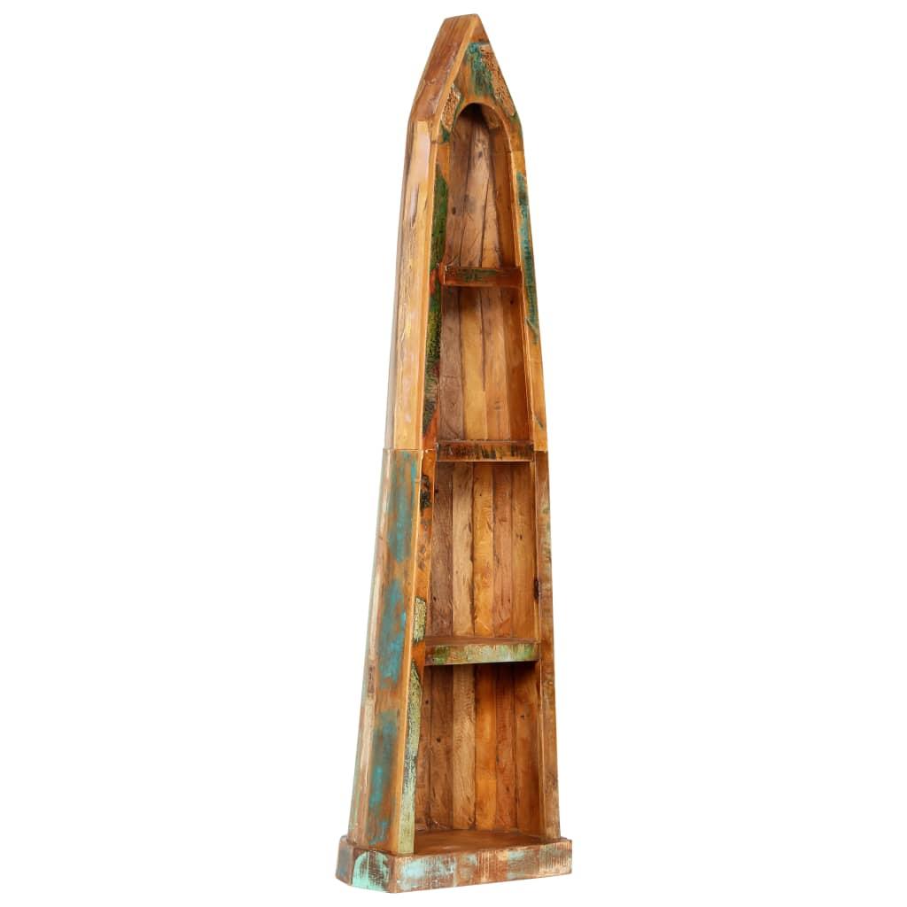 vidaXL Knižnica z recyklovaného dreva 50x40x180 cm