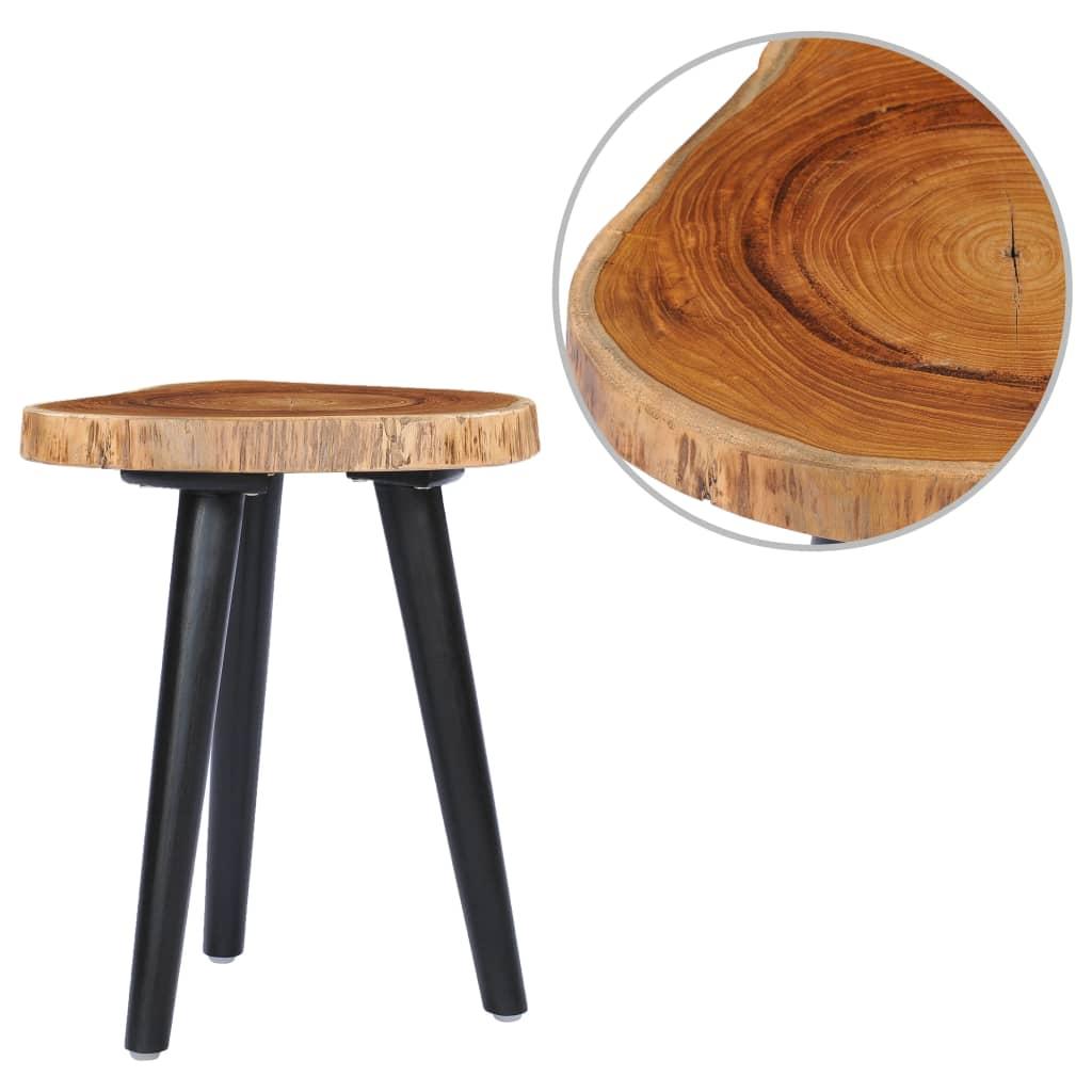 vidaXL Konferenčný stolík 40x45 cm masívne teakové drevo