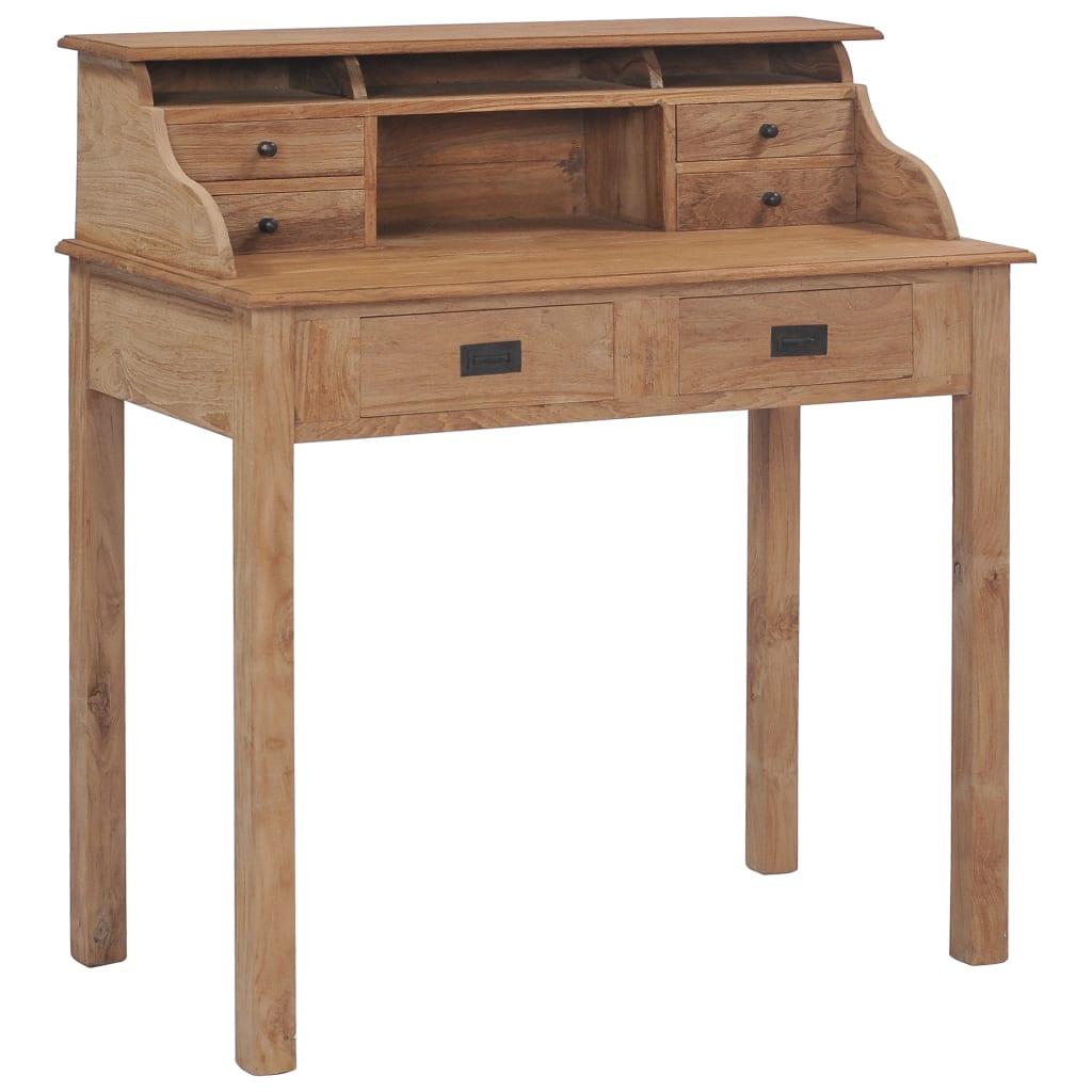 vidaXL Stôl 90x50x100 cm masívne teakové drevo