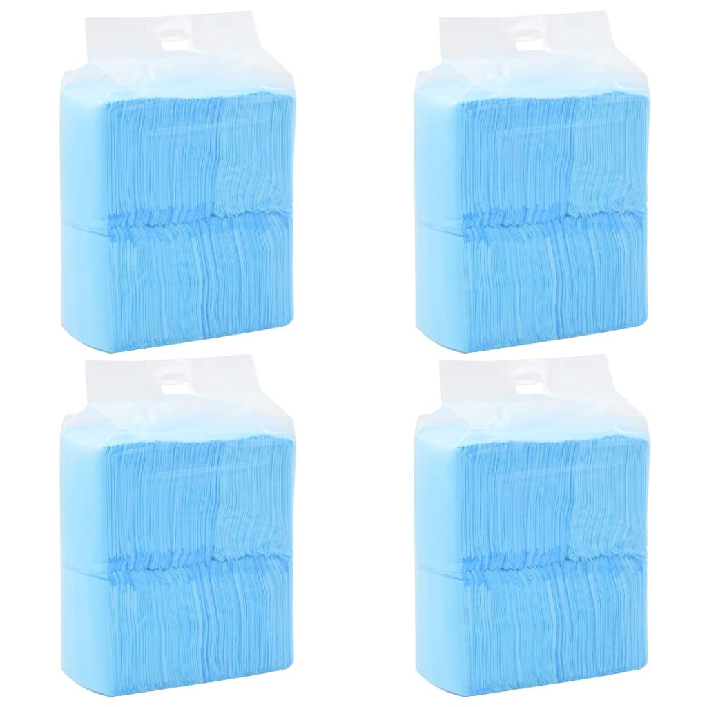 vidaXL Hygienické podložky pre psov 400 ks 60x60 cm netkaná textília