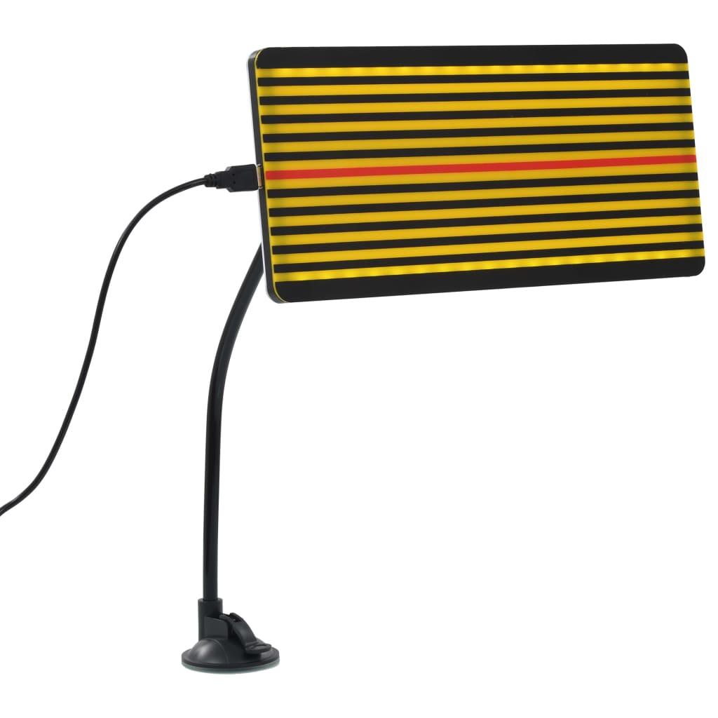 vidaXL LED doska s čiarovým rastrom na opravu preliačín