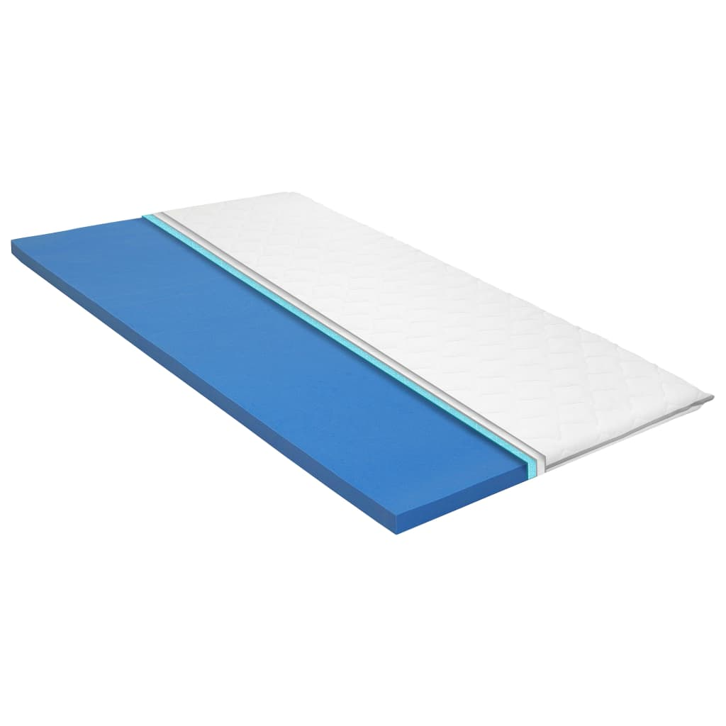 vidaXL Vrchný matrac 160x200 cm, pamäťová pena Visco 6 cm