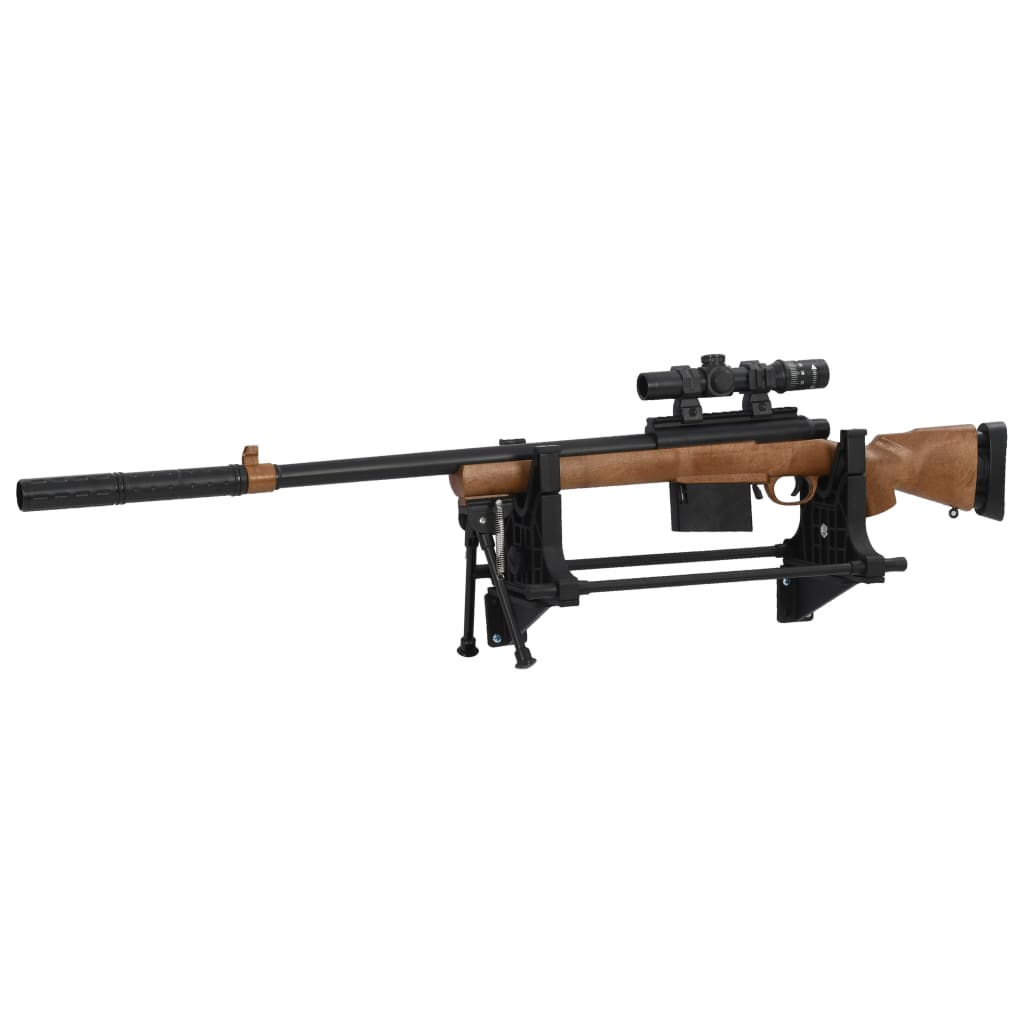 vidaXL Stojan na streľbu 40x17,5x19 cm plastový