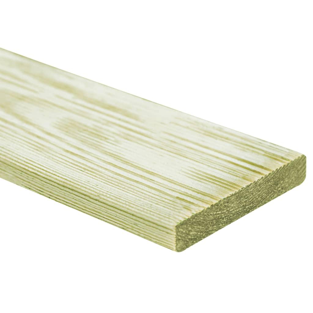 vidaXL 90 ks drevené podlahové dosky 150x12 cm FSC drevo