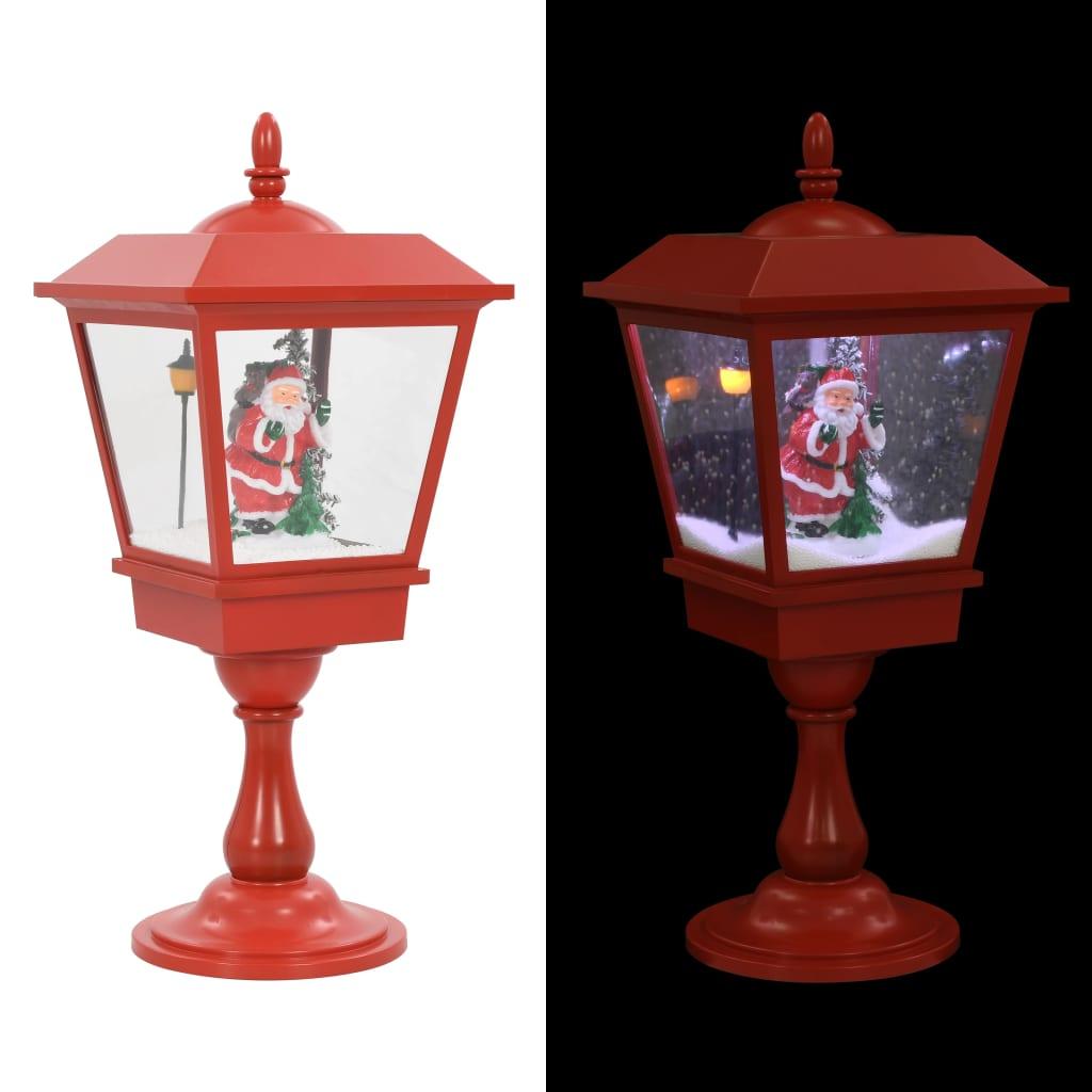vidaXL Vianočná stojanová lampa so Santom 64 cm LED