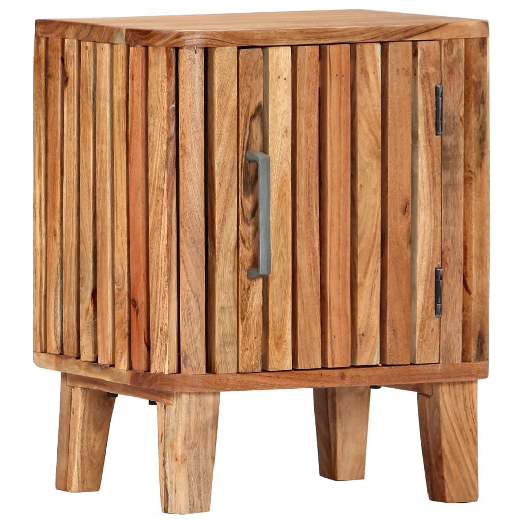 vidaXL Nočný stolík 40x30x50 cm akáciový masív