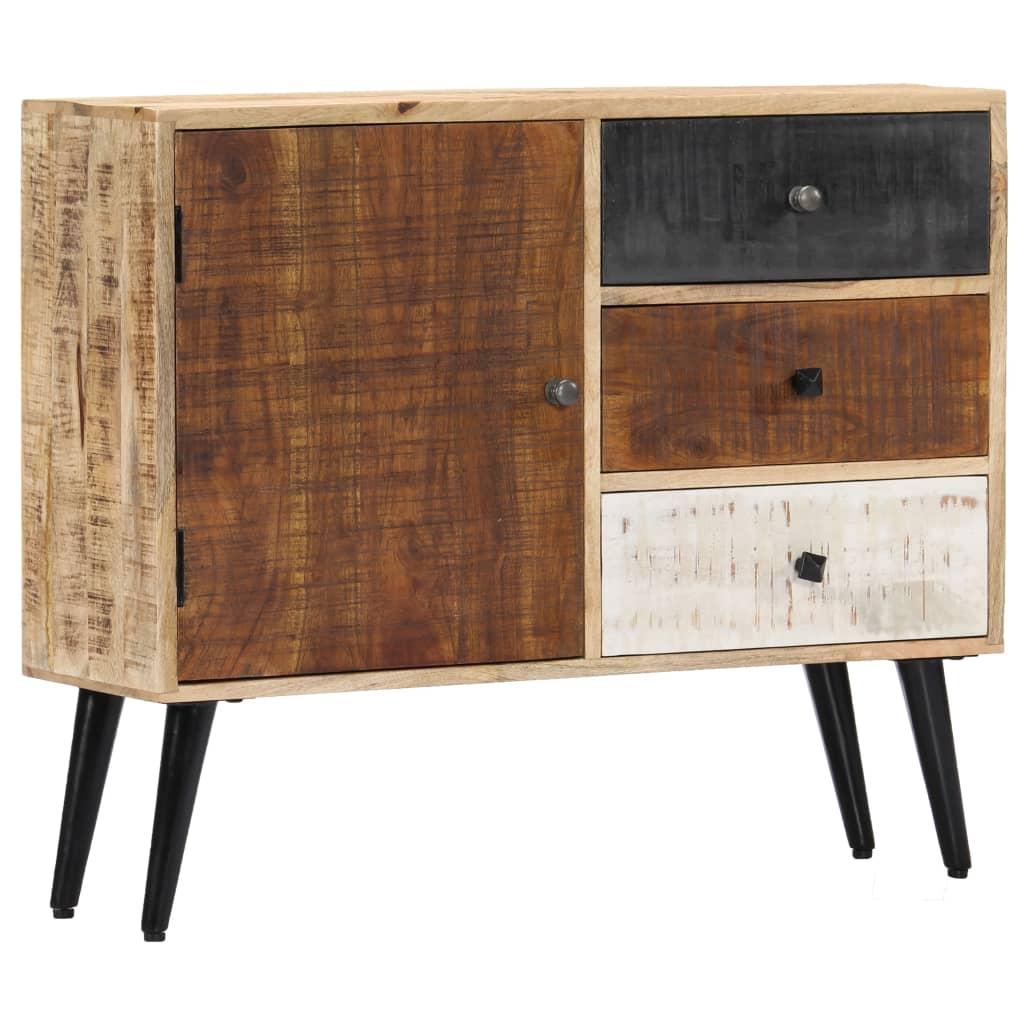 vidaXL Komoda 88x30x73 cm masívne mangovníkové drevo