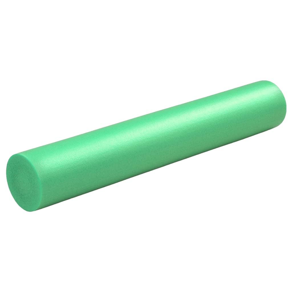 vidaXL Penový joga valec zelený 15x90 cm EPE