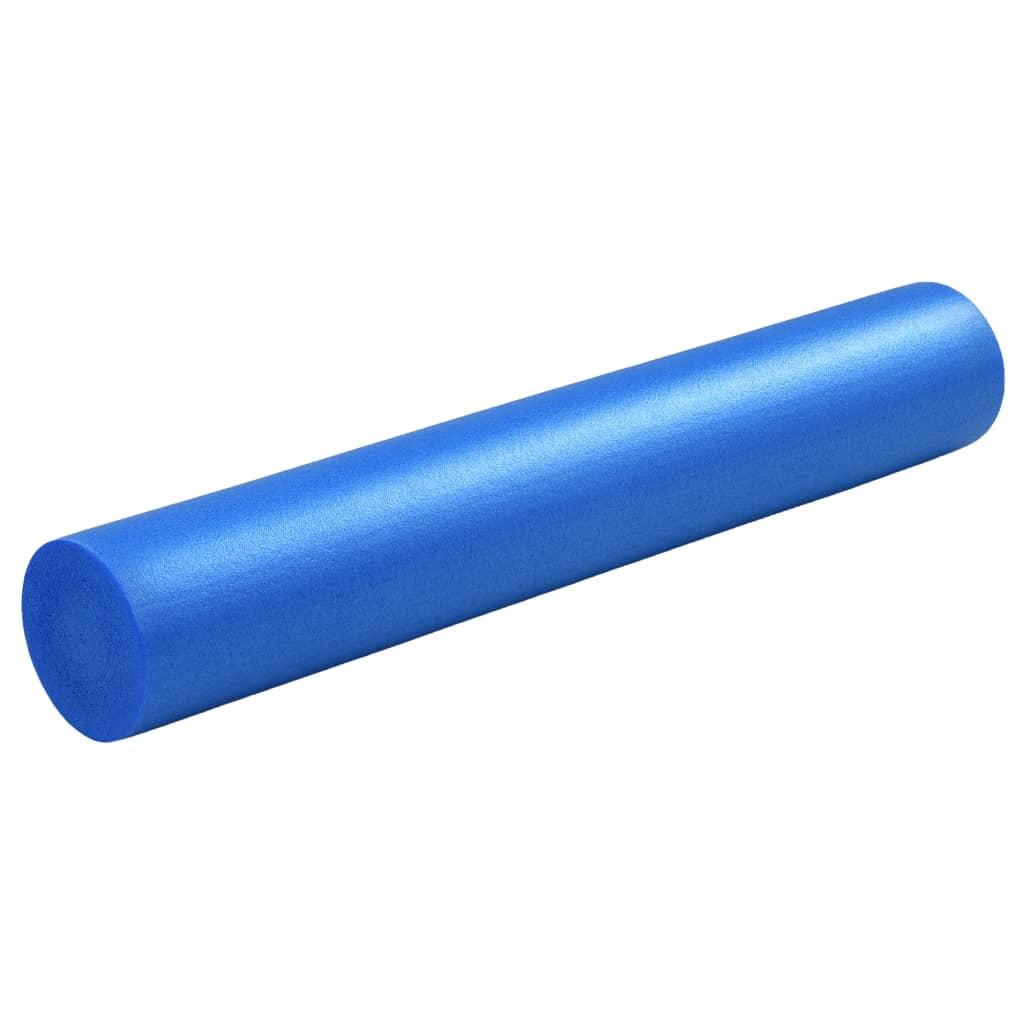 vidaXL Penový joga valec modrý 15x90 cm EPE