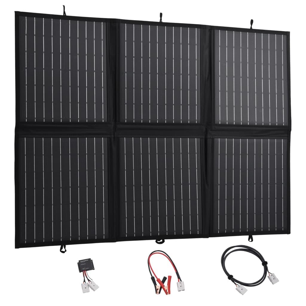vidaXL Skladacia solárna nabíjačka 120 W 12 V