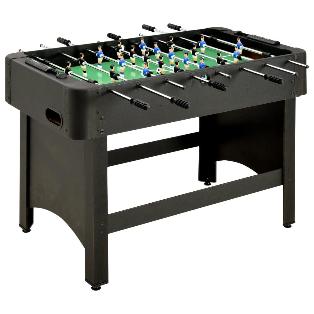 vidaXL Stolný futbal 118x95x79 cm, čierny