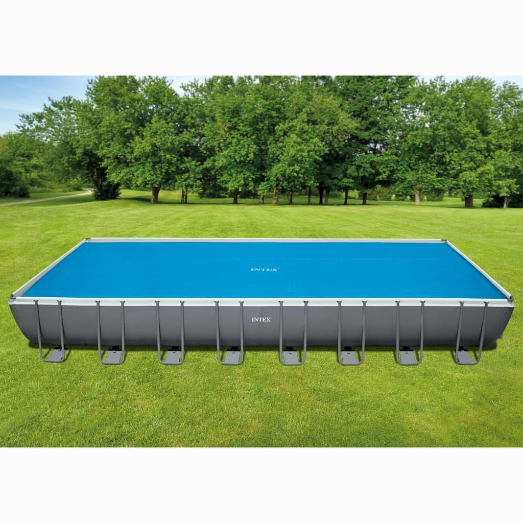 Intex Solárna bazénová plachta, obdĺžniková 975x488 cm