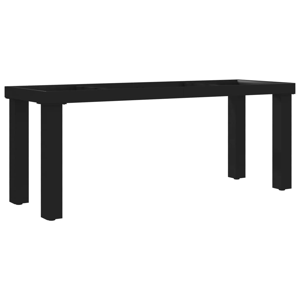 vidaXL Nohy na lavičku, rám v tvare I 105x36x42 cm