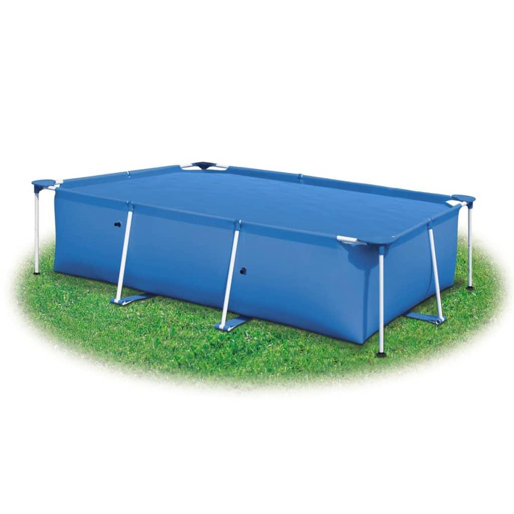 vidaXL Bazénová plachta, modrá 975x488 cm, PE