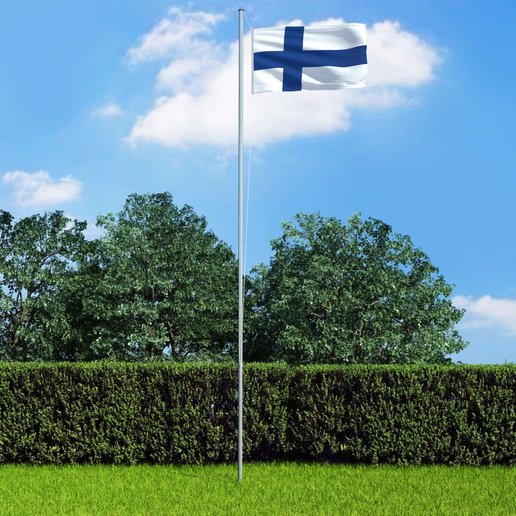 vidaXL Vlajka Fínsko 90x150 cm