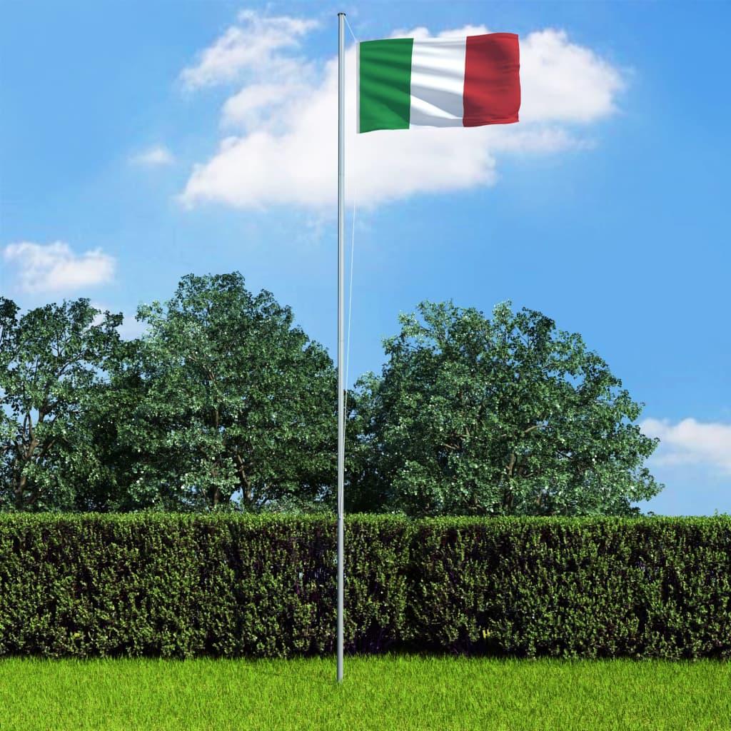 vidaXL Vlajka Taliansko 90x150 cm
