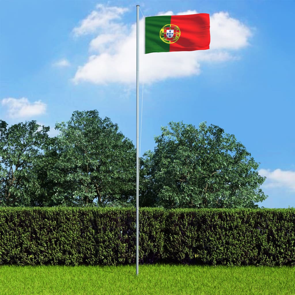 vidaXL Vlajka Portugalsko 90x150 cm