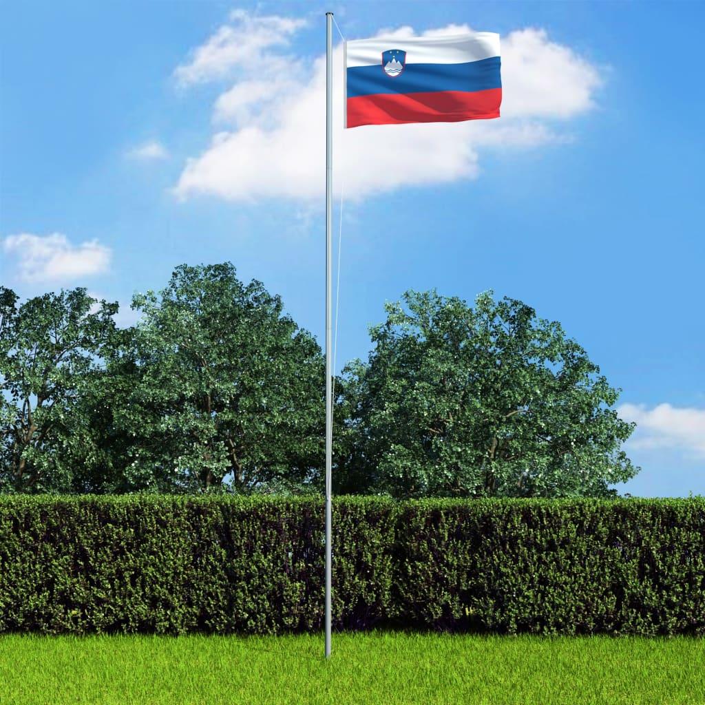vidaXL Vlajka Slovinsko 90x150 cm