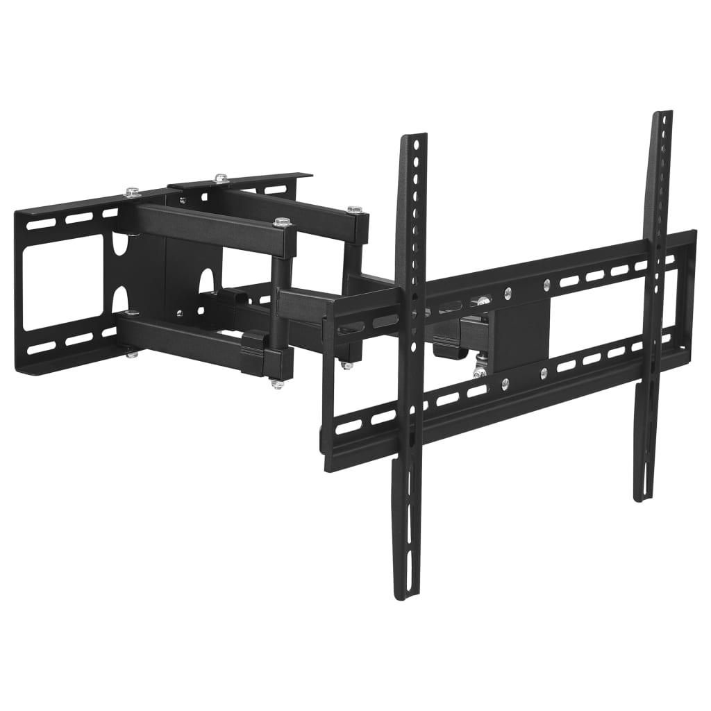 vidaXL Otočný rohový nástenný TV držiak 23