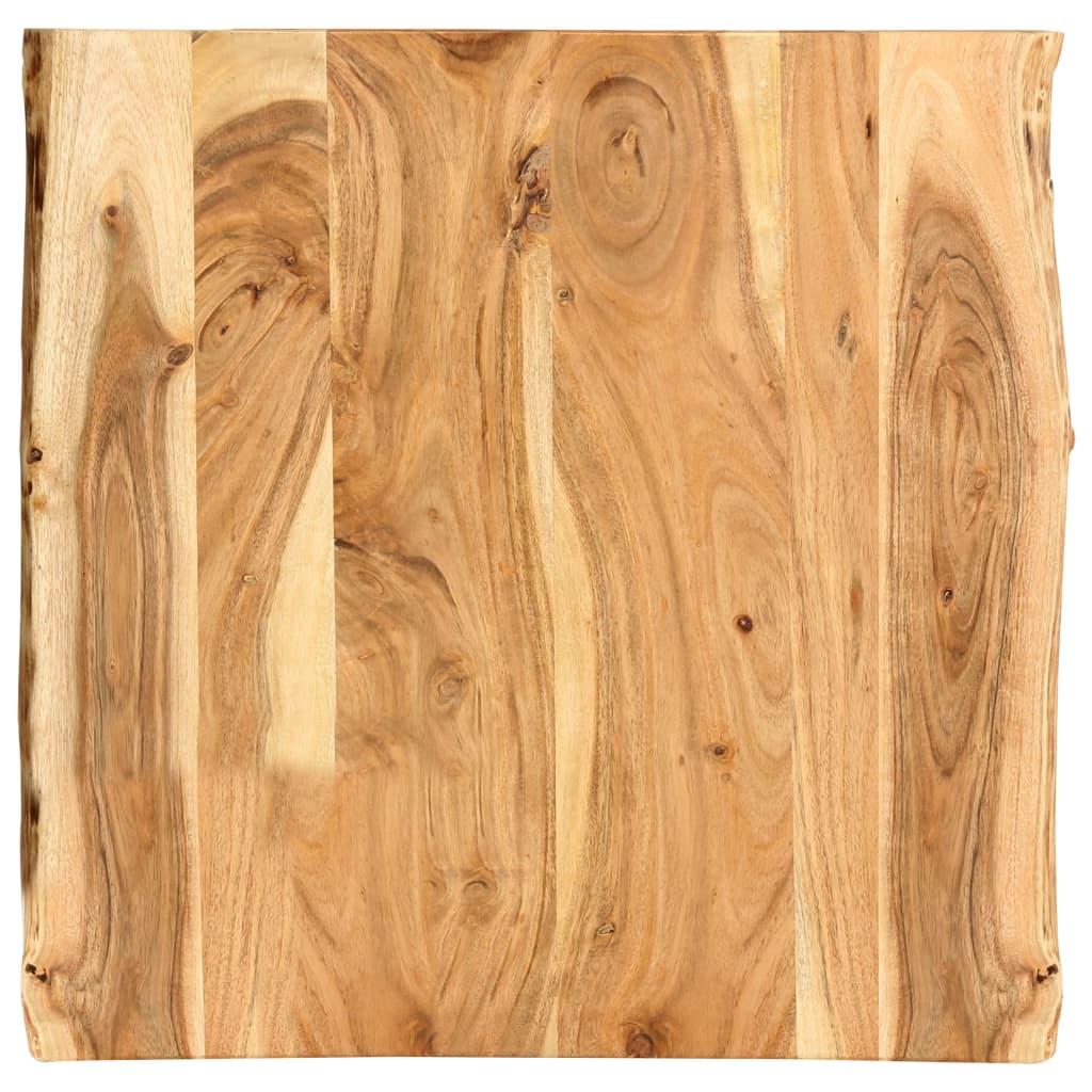 vidaXL Kuchynská doska stola masívne akáciové drevo 60x60x2,5 cm