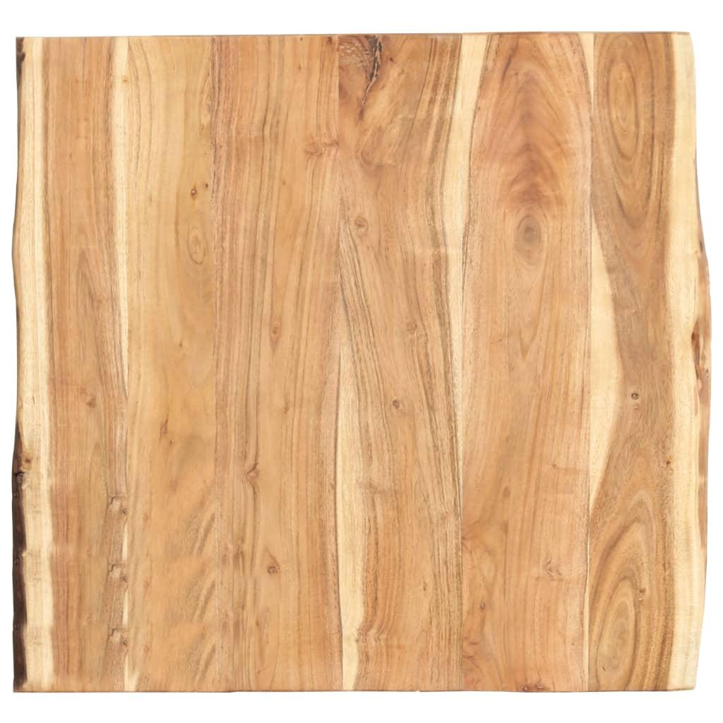 vidaXL Kuchynská doska stola masívne akáciové drevo 60x60x3,8 cm