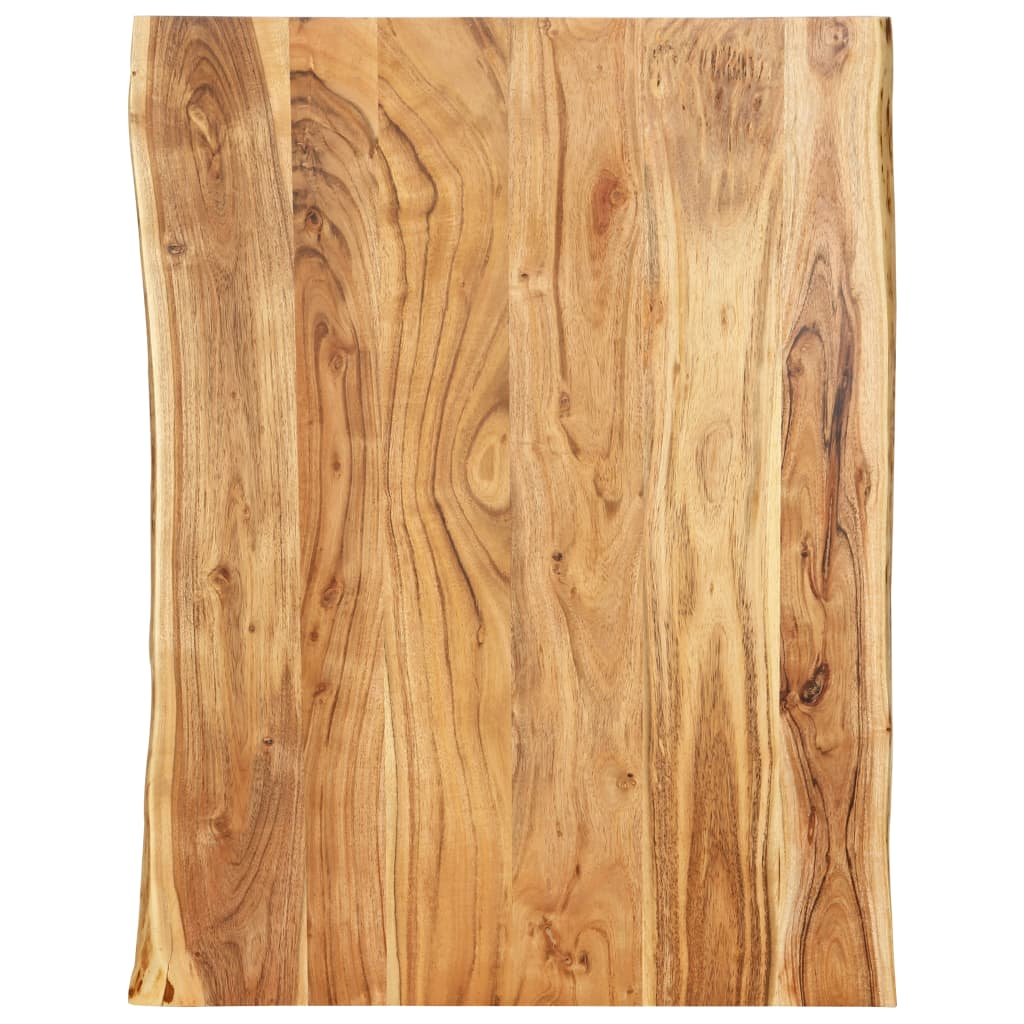 vidaXL Kuchynská doska stola masívne akáciové drevo 80x60x2,5 cm