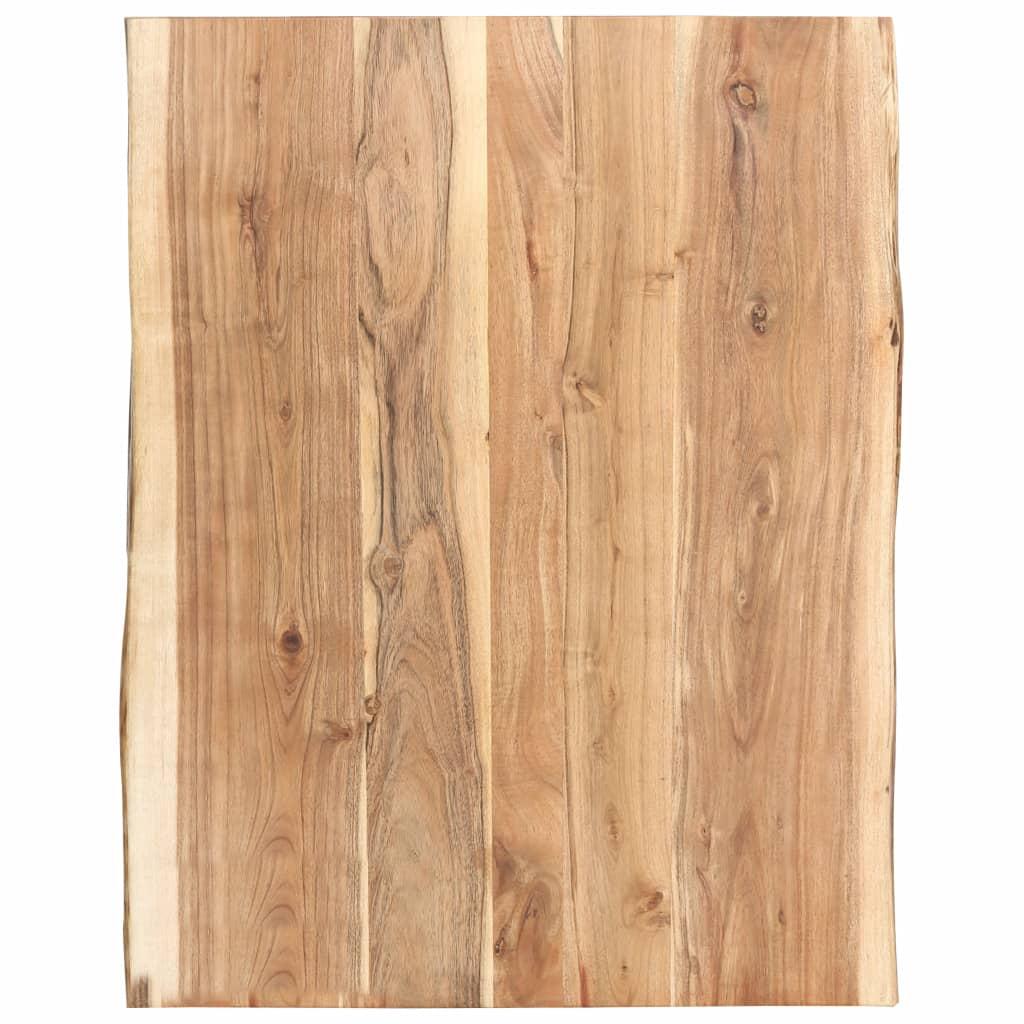vidaXL Kuchynská doska stola masívne akáciové drevo 80x60x3,8 cm