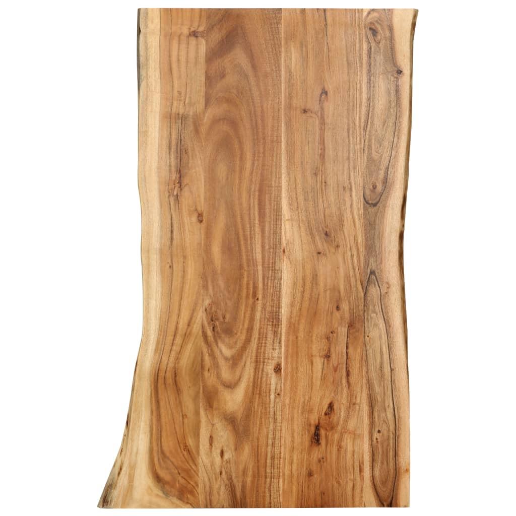 vidaXL Kuchynská doska stola masívne akáciové drevo 100x60x2,5 cm