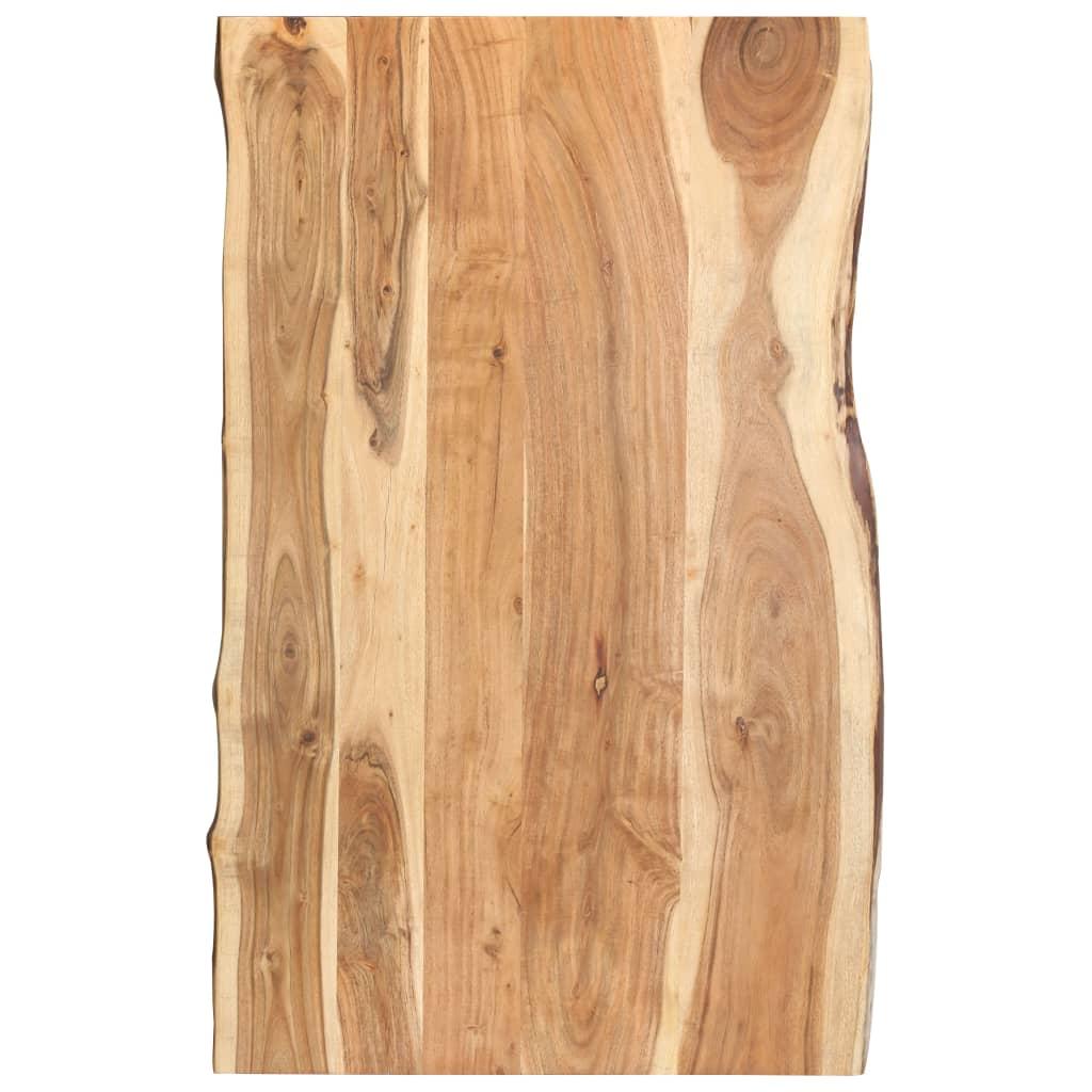 vidaXL Kuchynská doska stola masívne akáciové drevo 100x60x3,8 cm