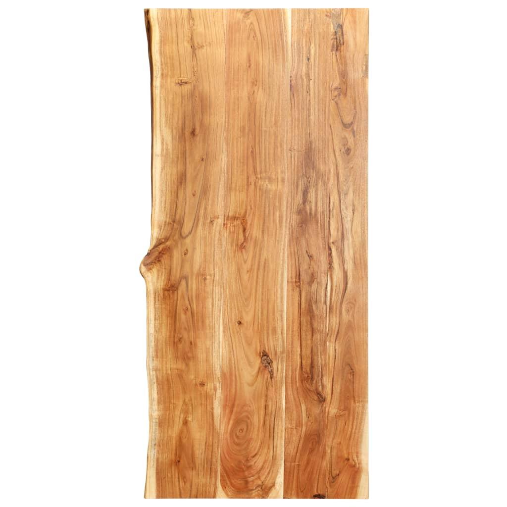vidaXL Kuchynská doska stola masívne akáciové drevo 120x60x3,8 cm