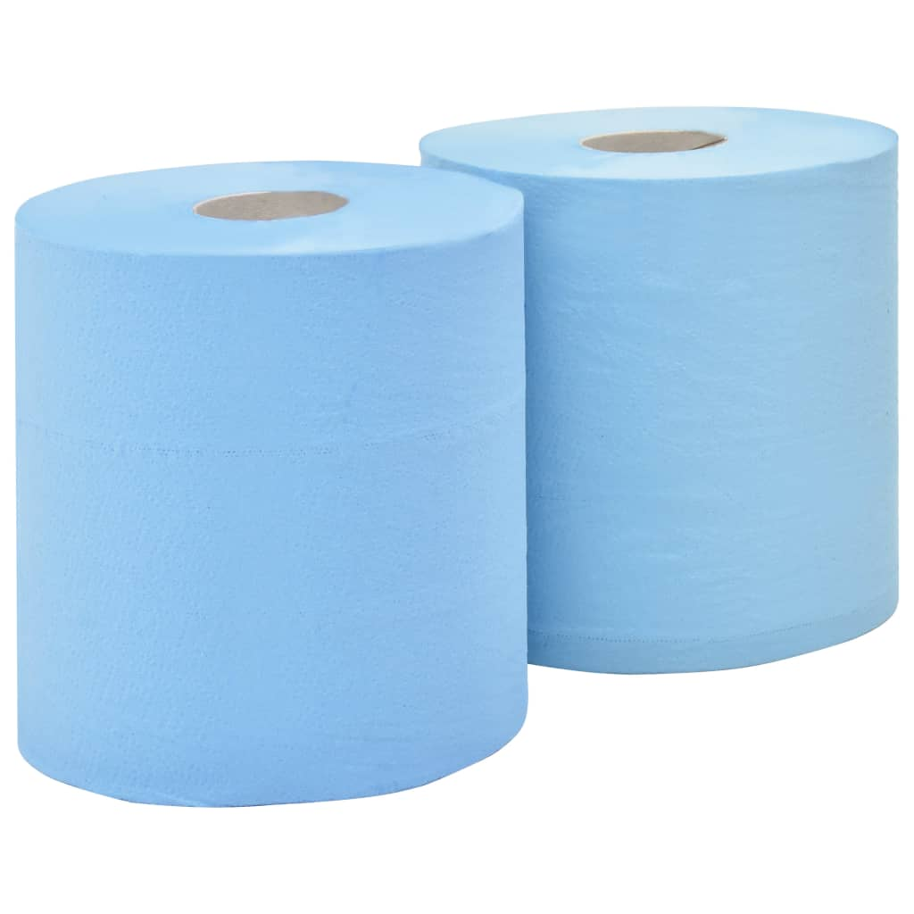 vidaXL 3-vrstvové priemyselné papierové utierky 2 rolky 38 cm
