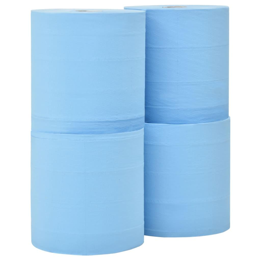 vidaXL 3-vrstvové priemyselné papierové utierky 4 rolky 38 cm
