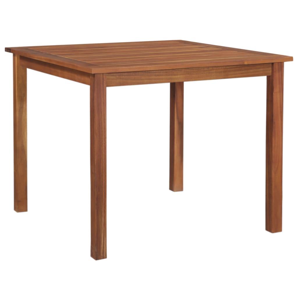 vidaXL Záhradný stôl 85x85x74 cm akáciový masív