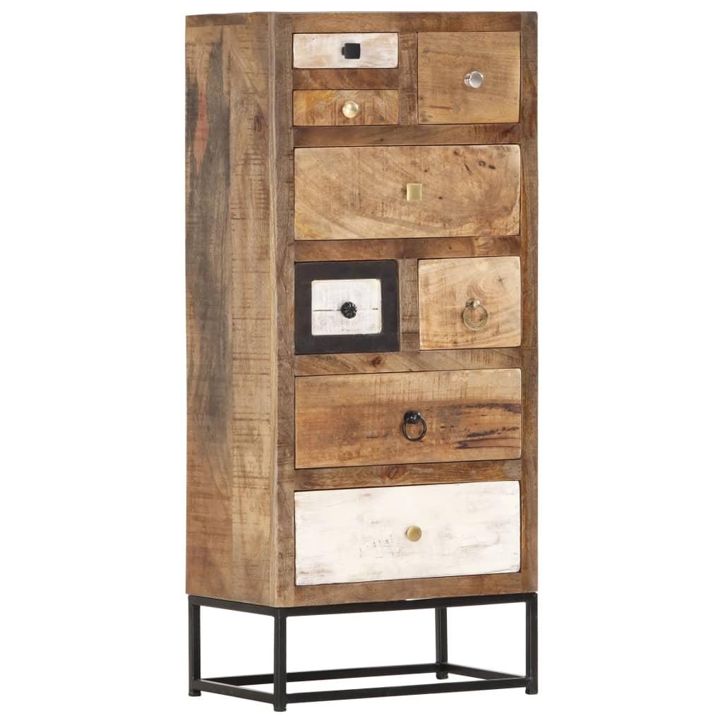 vidaXL Zásuvková skrinka 45x30x105 cm masívne recyklované drevo