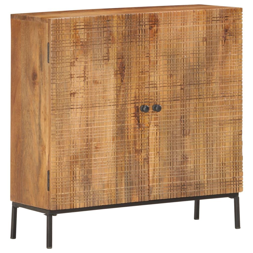 vidaXL Komoda 75x30x75 cm masívne mangovníkové drevo